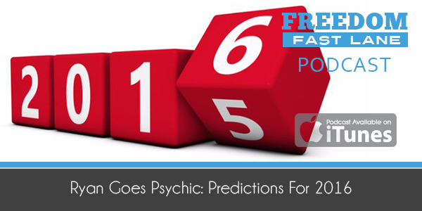Ryan Goes Psychic: Predictions For 2016