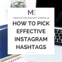 Artwork for Episode 44 How to Pick Effective Instagram Hashtags