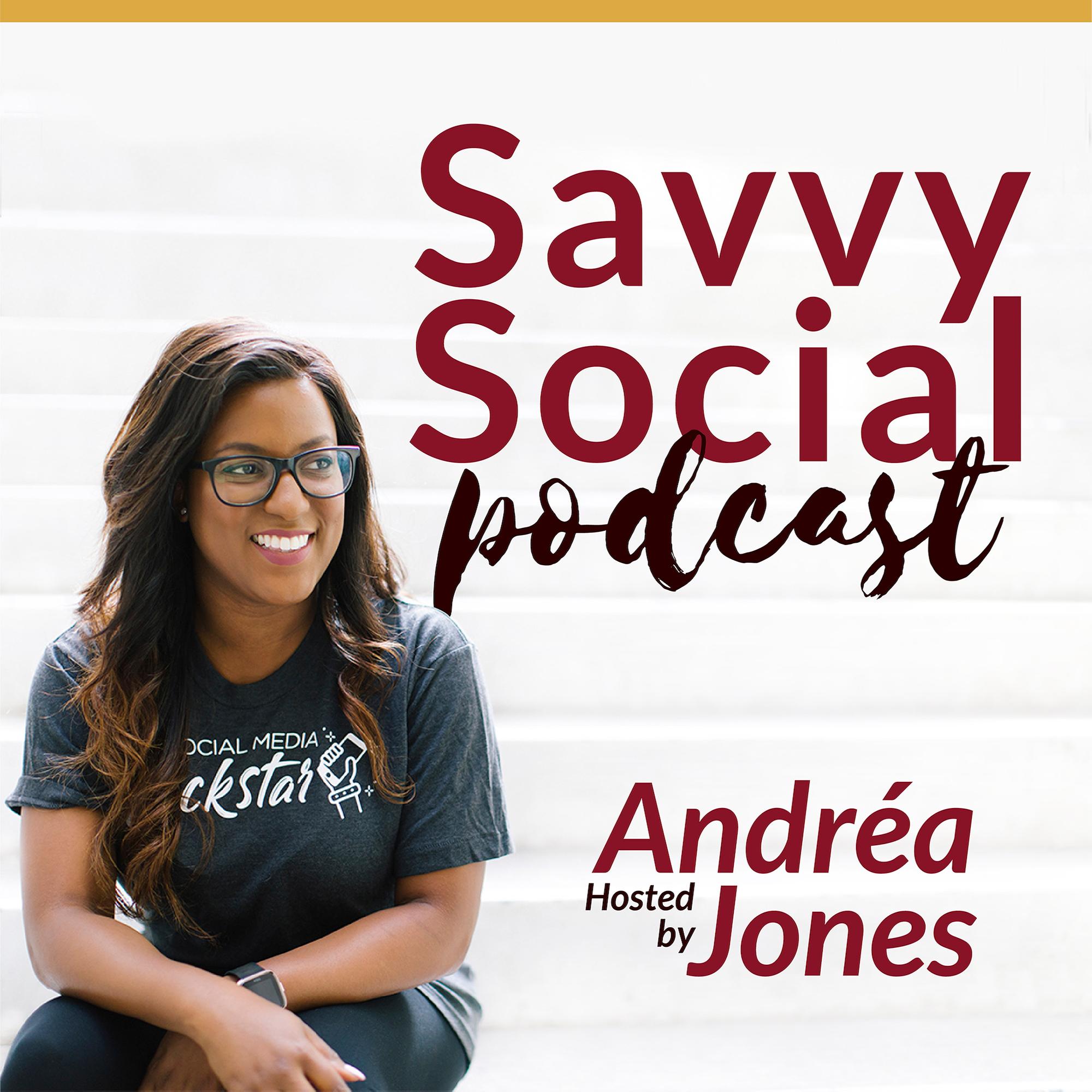 Savvy Social Podcast show art