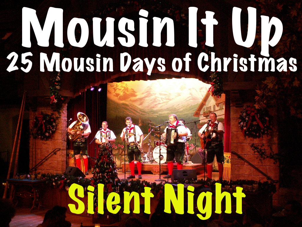 25 Mousin Days Of Christmas - Silent Night