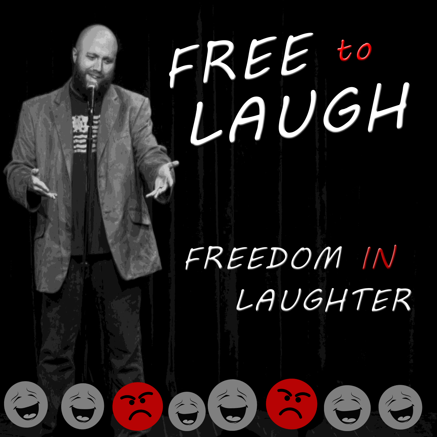 Free to Laugh show art
