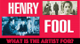 Artwork for Why Stories? Henry Fool and What the Artist is For