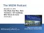 Artwork for  MSDW Podcast, Nov 21, 2016: Envision reimagined; GP 2016 R2 update; 365 aims for NAV parity