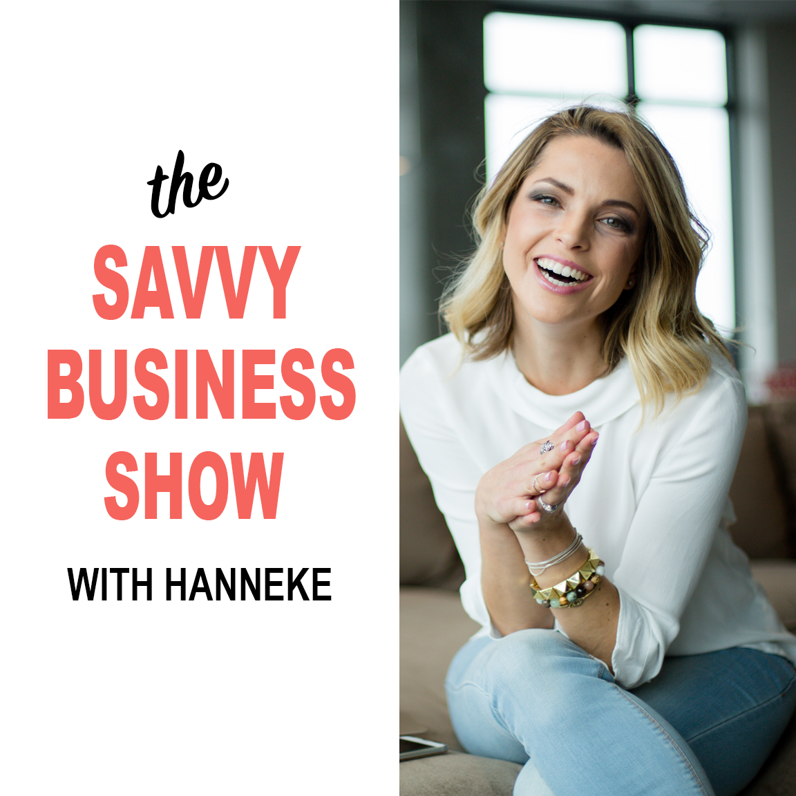 The Savvy Business Show show art