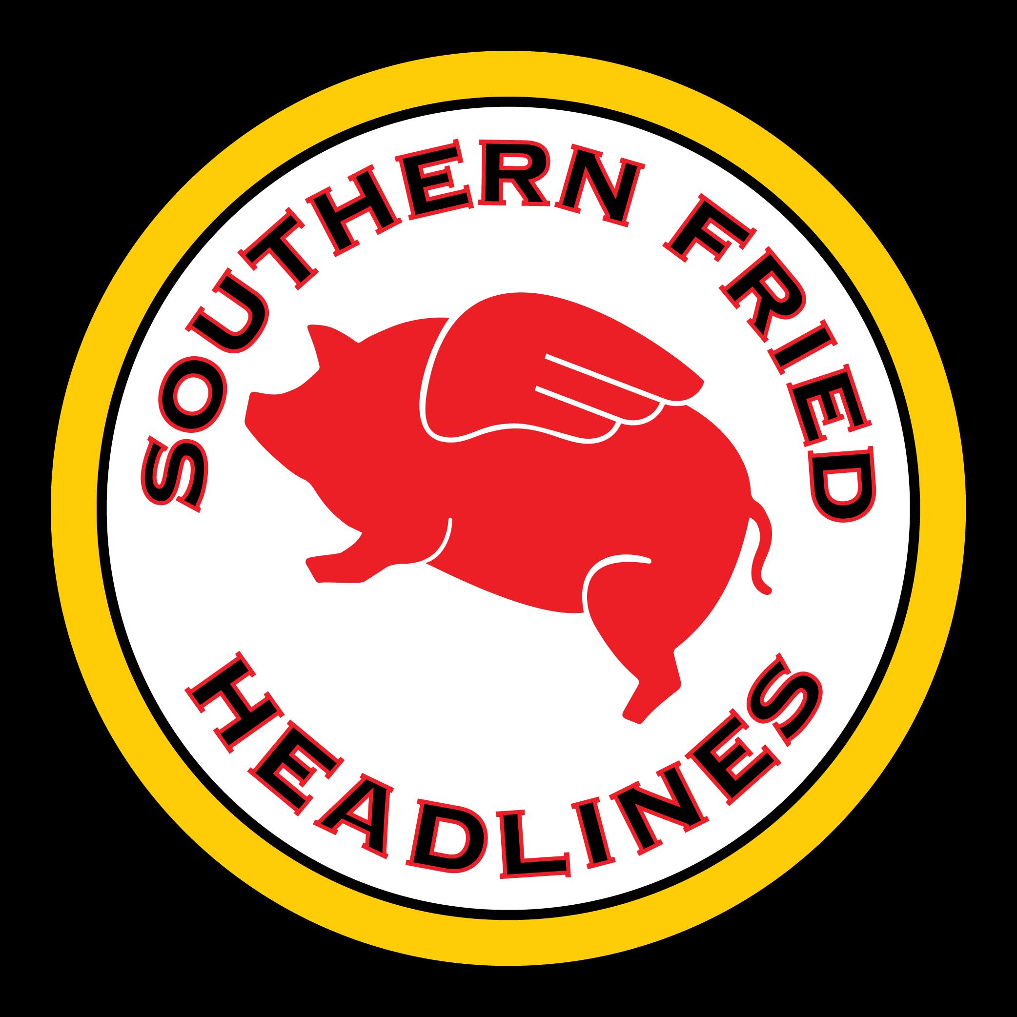 Southern Fried Headlines show art