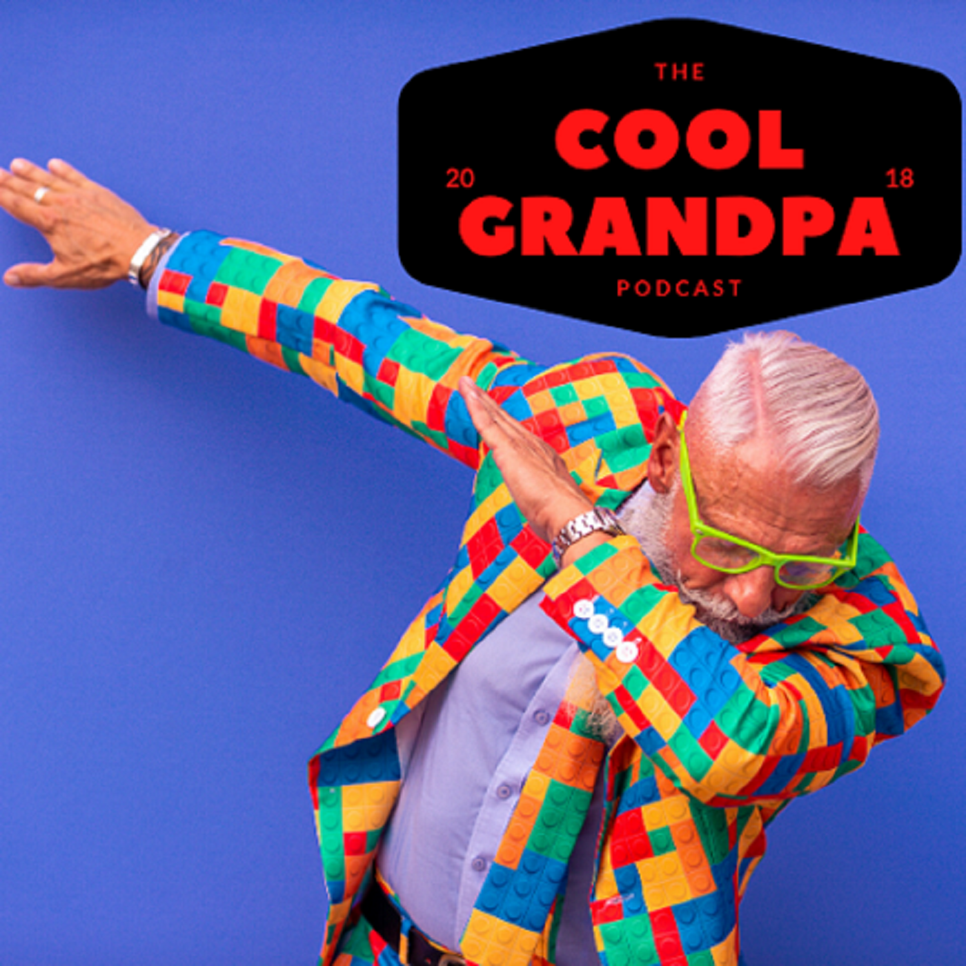 The Cool Grandpa Podcast show art