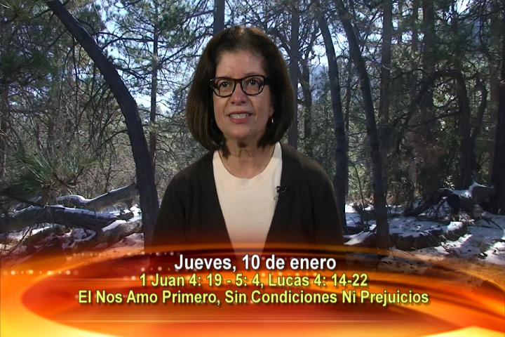 """Artwork for Dios te Habla con Maria Eva Hernandez; Tema el hoy: """"El nos amo primero, sin condiciones ni prejuicios."""""""