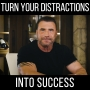 Artwork for Turn Distraction into Success! - with Ed Mylett