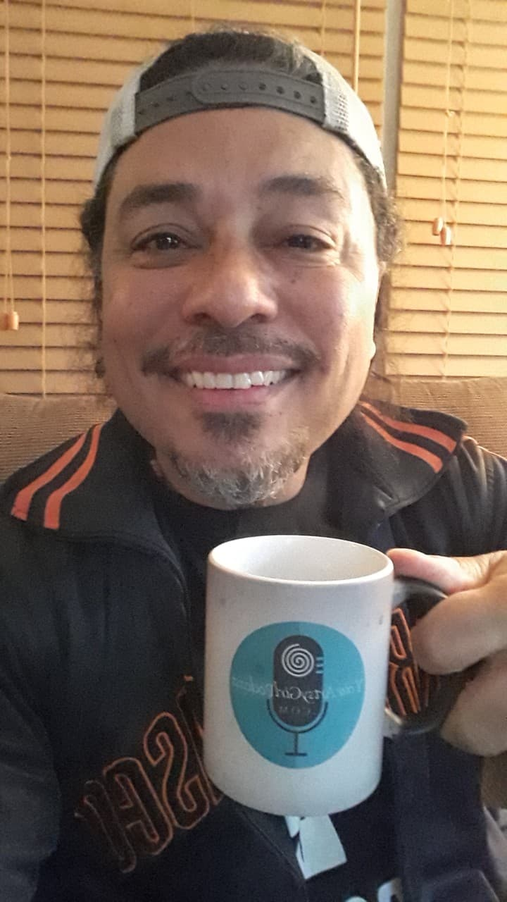 Tony with YourArtsyGirlPodcast.com Coffee Mug