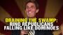 Artwork for DRAINING the SWAMP: RINO Republicans falling like dominoes