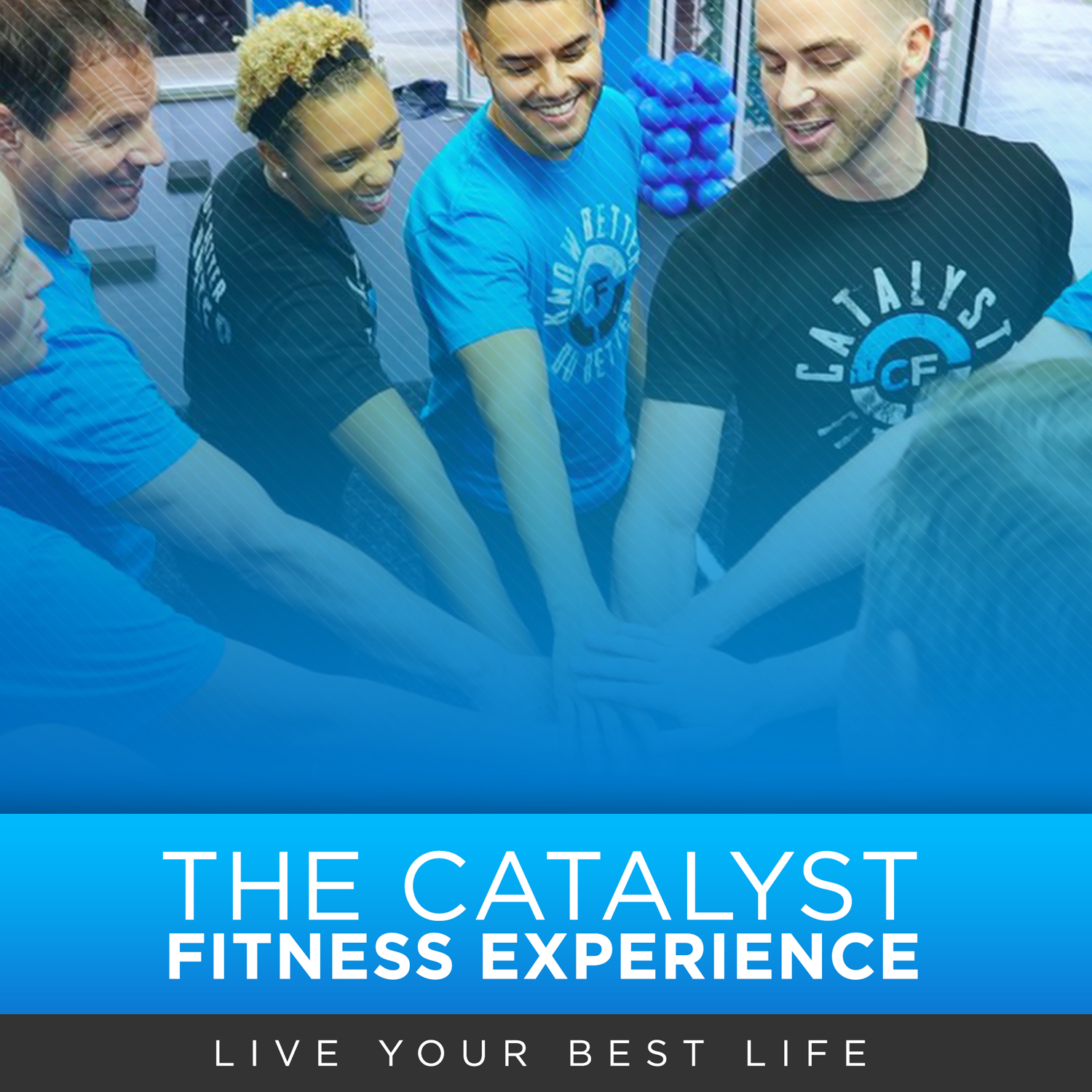 The Catalyst Fitness Experience show art