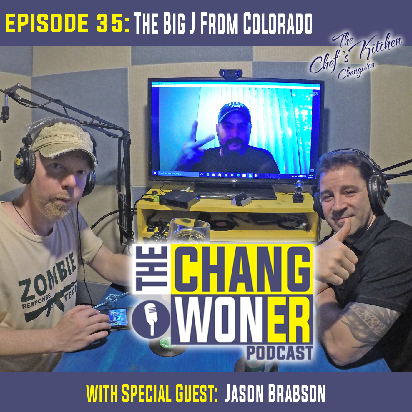 Artwork for Adjusting to Life Back in USA After Years Living in South Korea. -guest Jason Brabson (Ep 35)