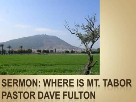 Where is Mt. Tabor?