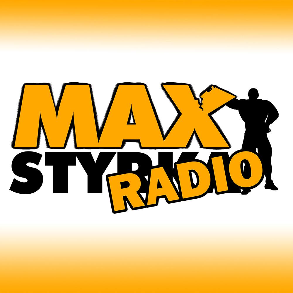 MAXstyrka Radio show art