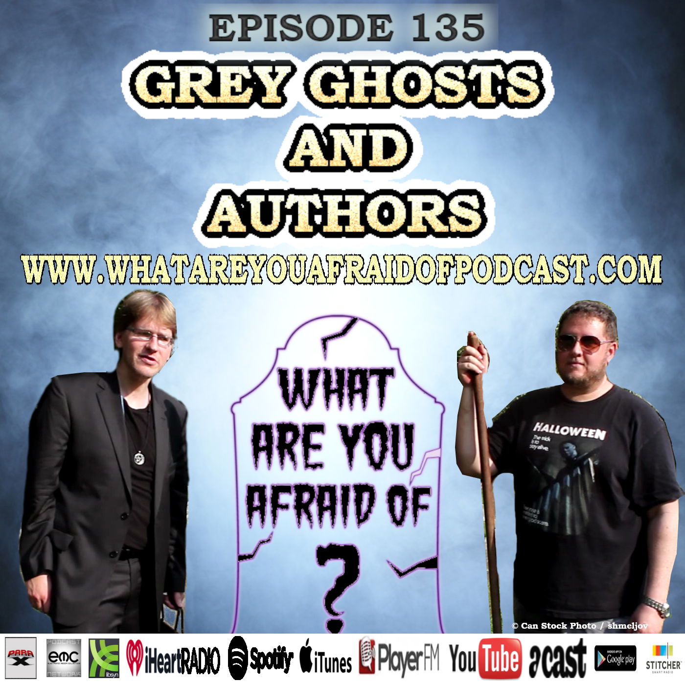 135 - GRAY GHOSTS & AUTHORS
