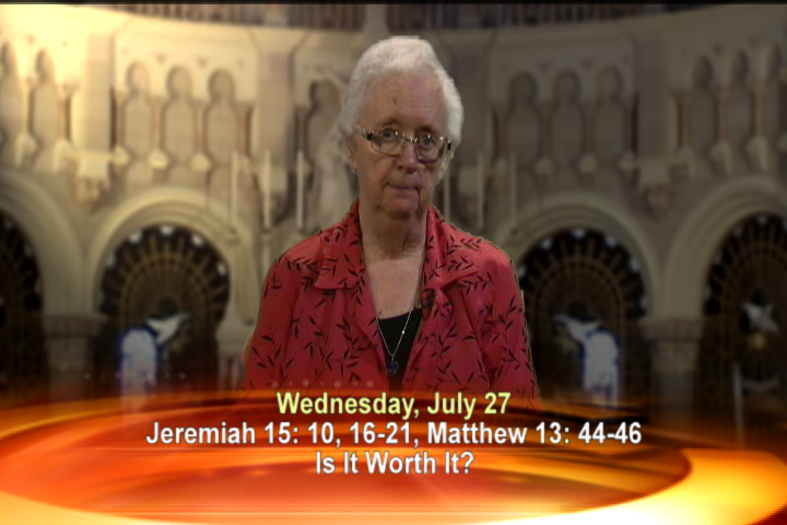 Artwork for Wednesday, July 27, 2016  Today's Topic: Is it worth it?