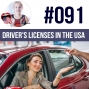 Artwork for #091 Getting a Driving License in the USA - ESL
