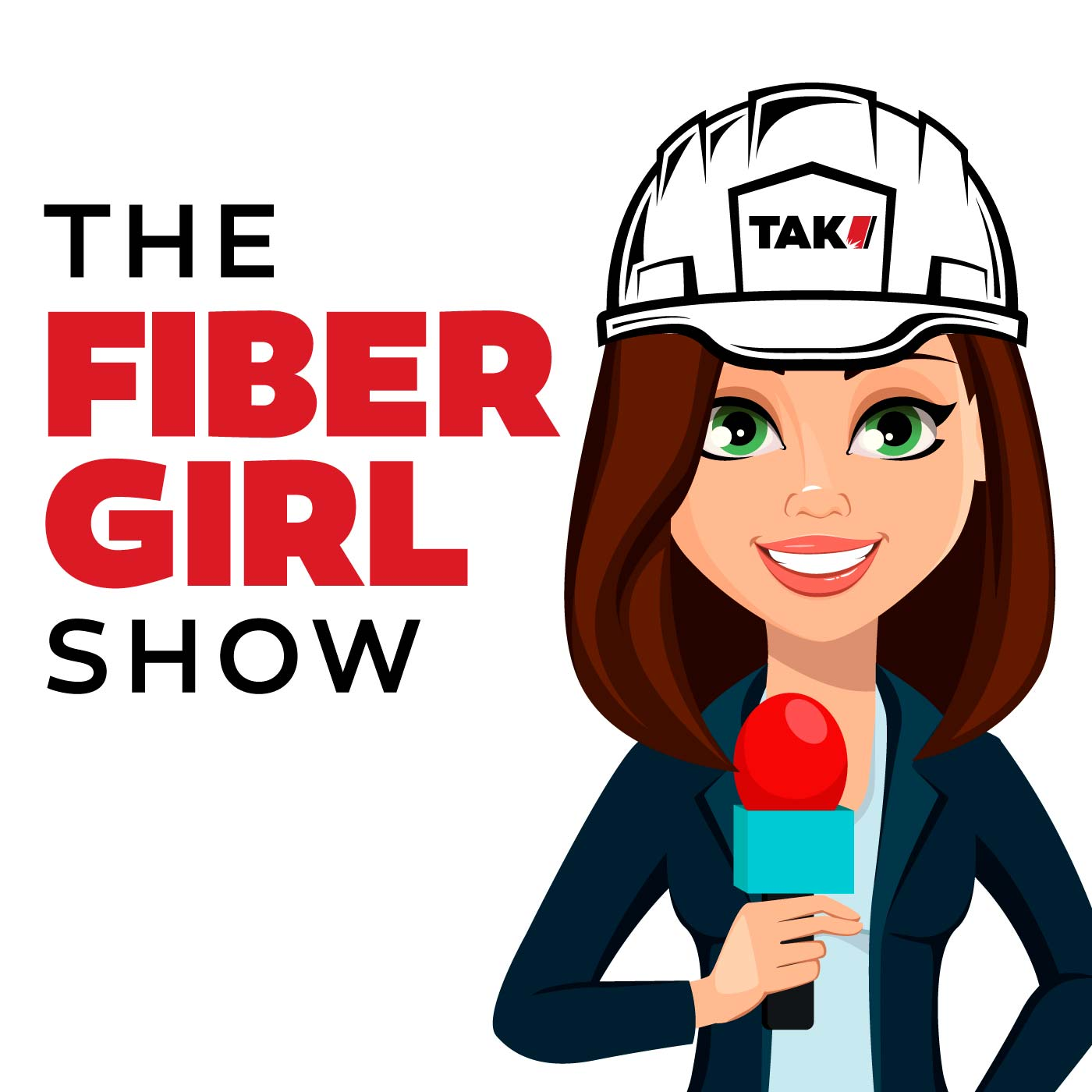 The Fiber Girl Show show art