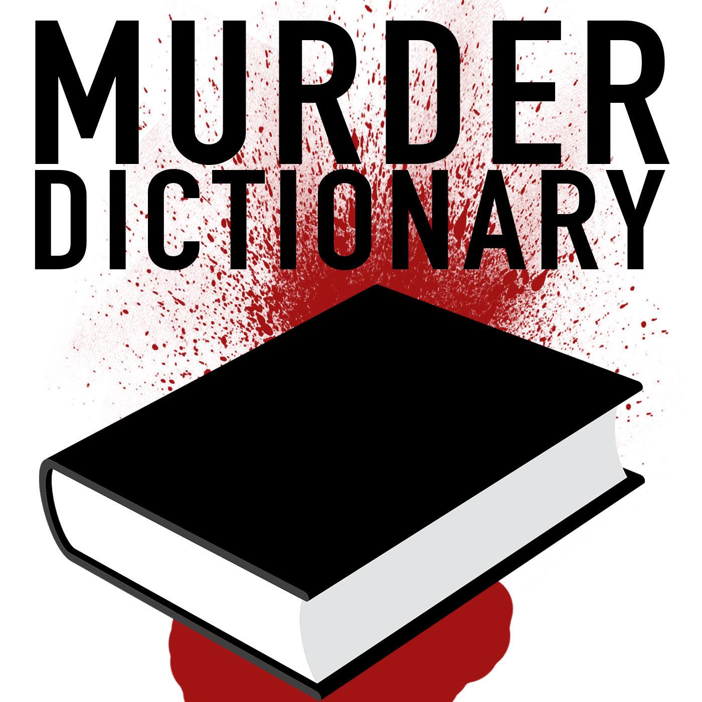 Murder Dictionary show art