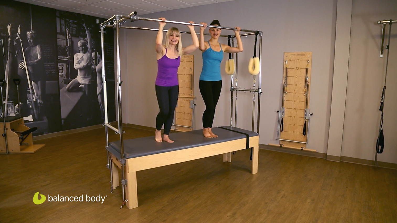 "Artwork for Pilates Instructors : S3E3 : Hanging Series: ""Think Like a Monkey"""