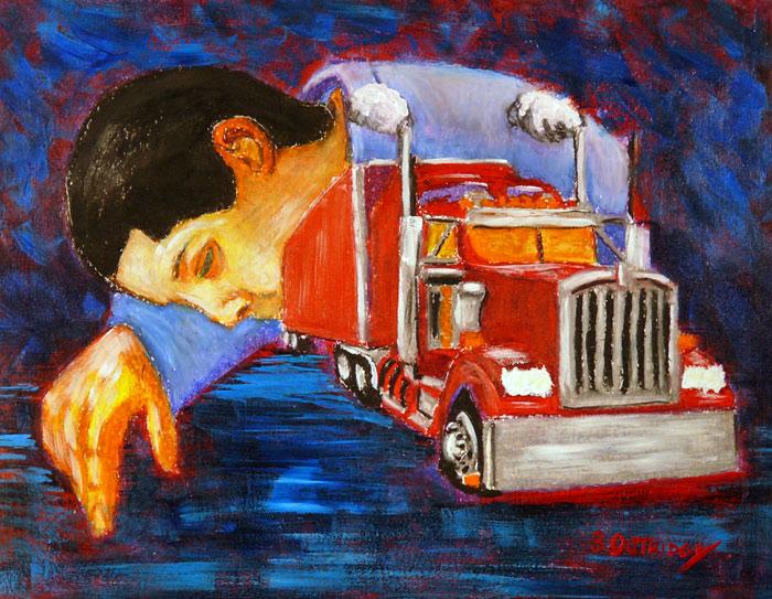 Sleeping Driver