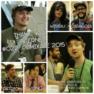#022: Comikaze 2015 with MatPat, Freddie Wong, Steve Zaragoza, and more