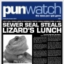 Artwork for 301 - Sewer Seal Steals Lizard's Lunch