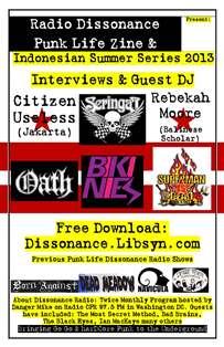 08.27.13 Seringai, Jakarta, Indonesia, Guest DJ with Punk Life Zine