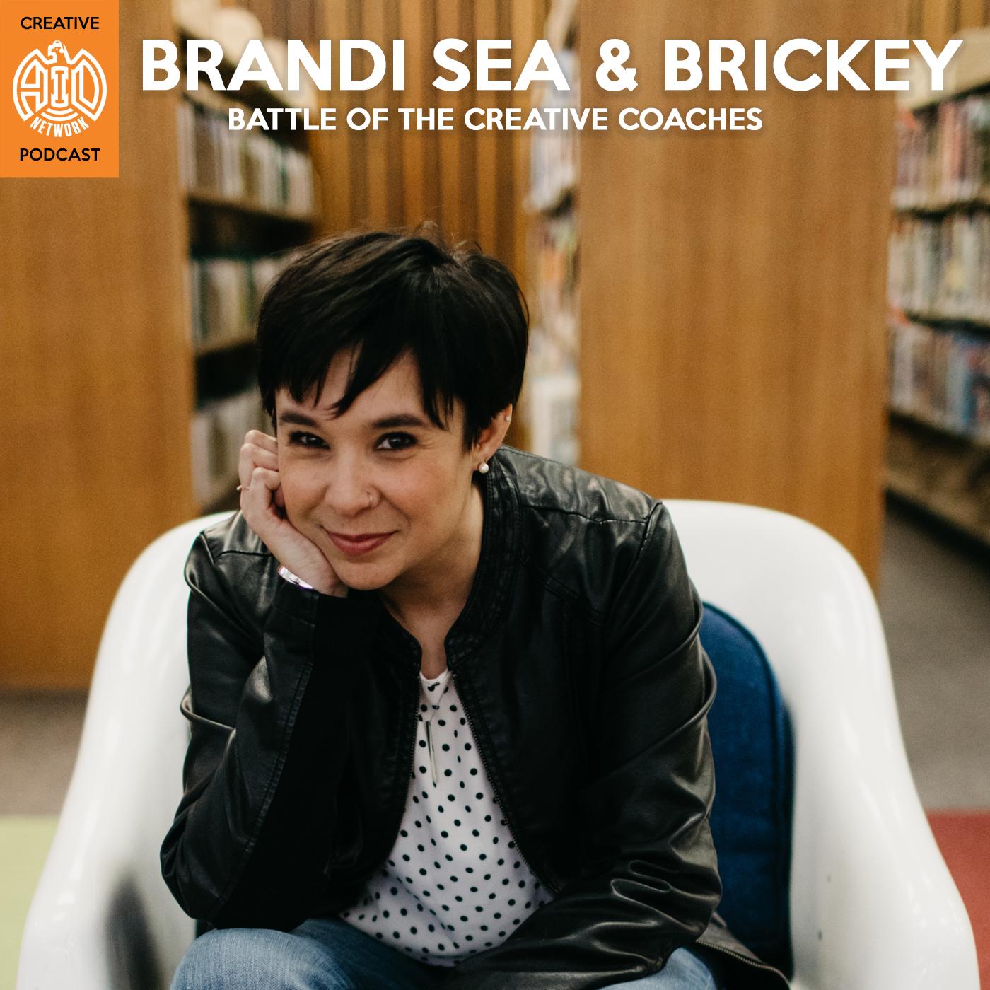 Battle Of The Creative Coaches | Brandi Sea Creative Coach show art