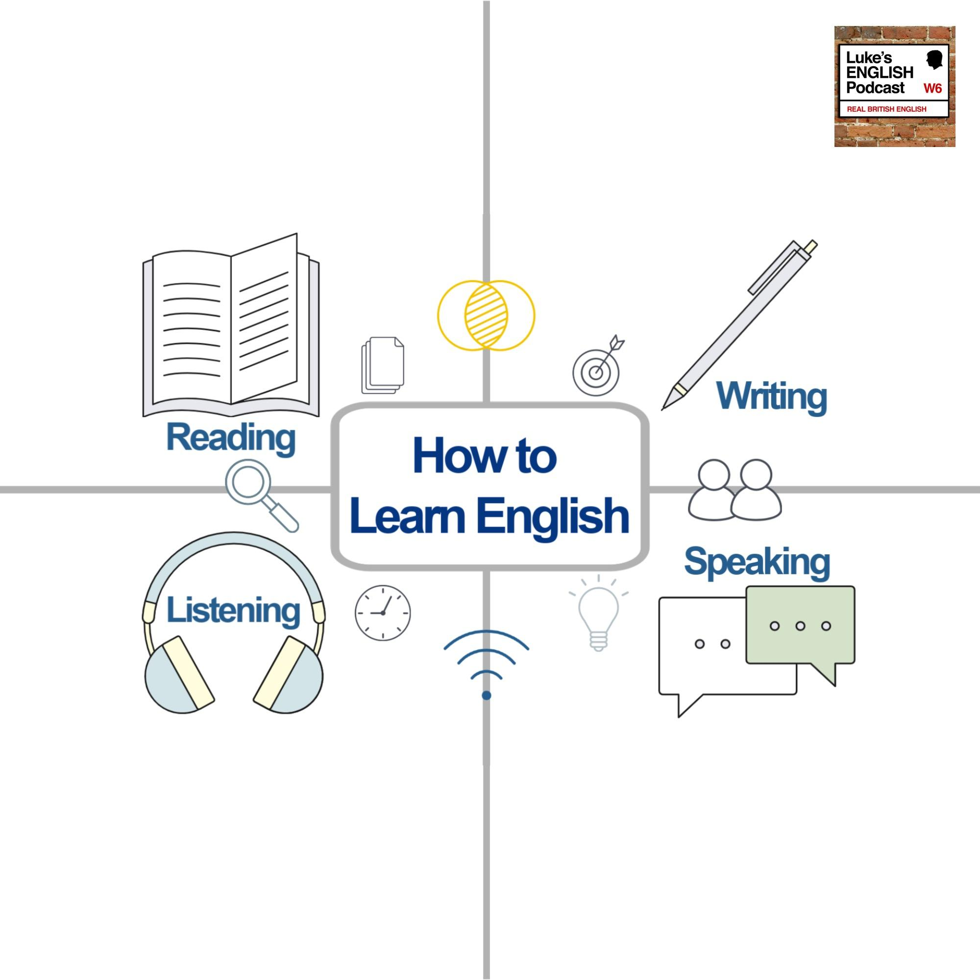 669. How to Learn English