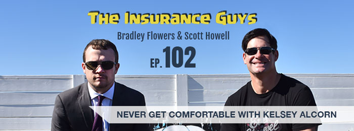 Kelsey Alcorn on the Insurance Guys Podcast