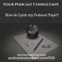 Artwork for How Do I Pick My Podcast Topic