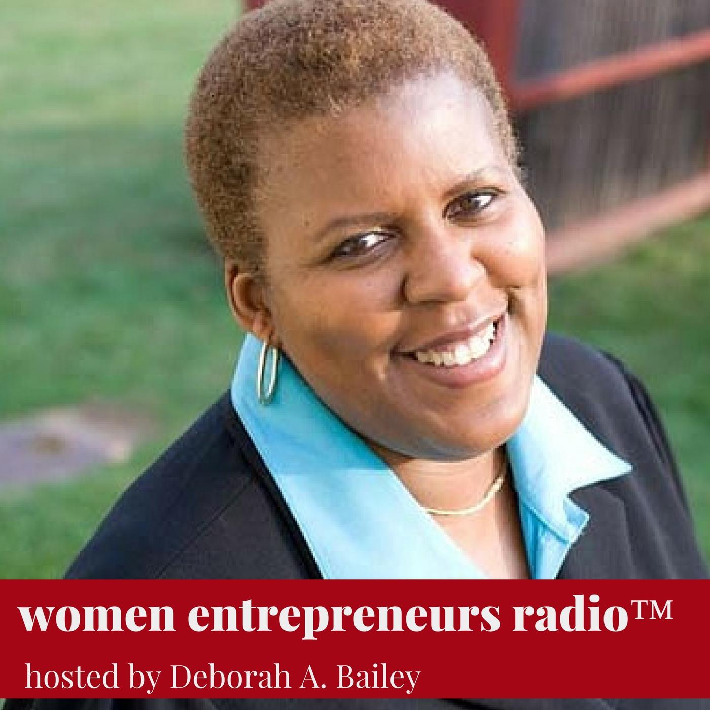 Women Entrepreneurs Radio show art