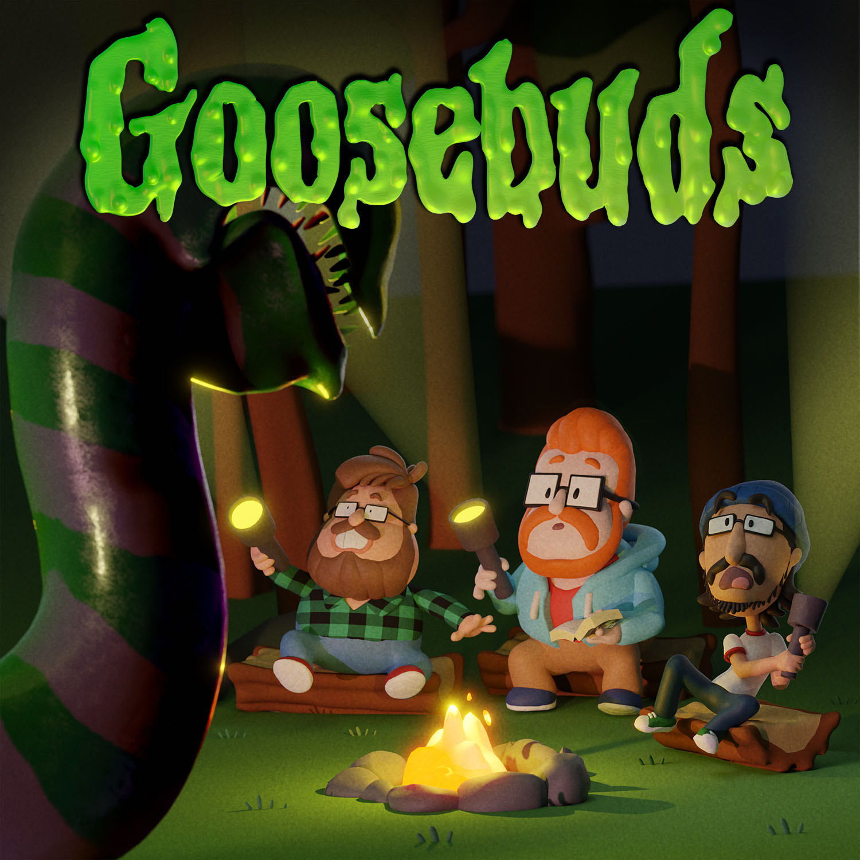 Goosebuds show art