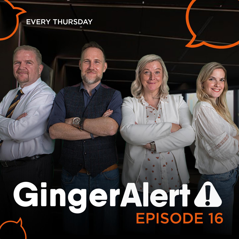 Artwork for Ep. 155 Ginger-Alert