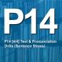 Artwork for P14 [4/4] Test & Pronunciation Drills (Sentence Stress)