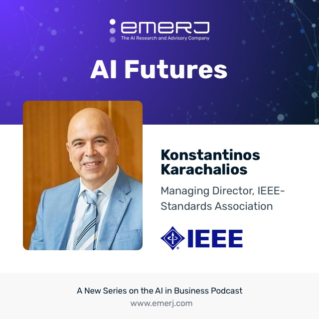 [AI Futures] Formation of Ethically Aligned AI Standards - with Dr. Karachalios PhD, Managing Director of IEEE Standards  (S1E3)