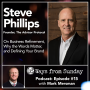 Artwork for Ep. 15 – Steve Phillips: On Business Refinement, Why the Words Matter, and Defining Your Brand