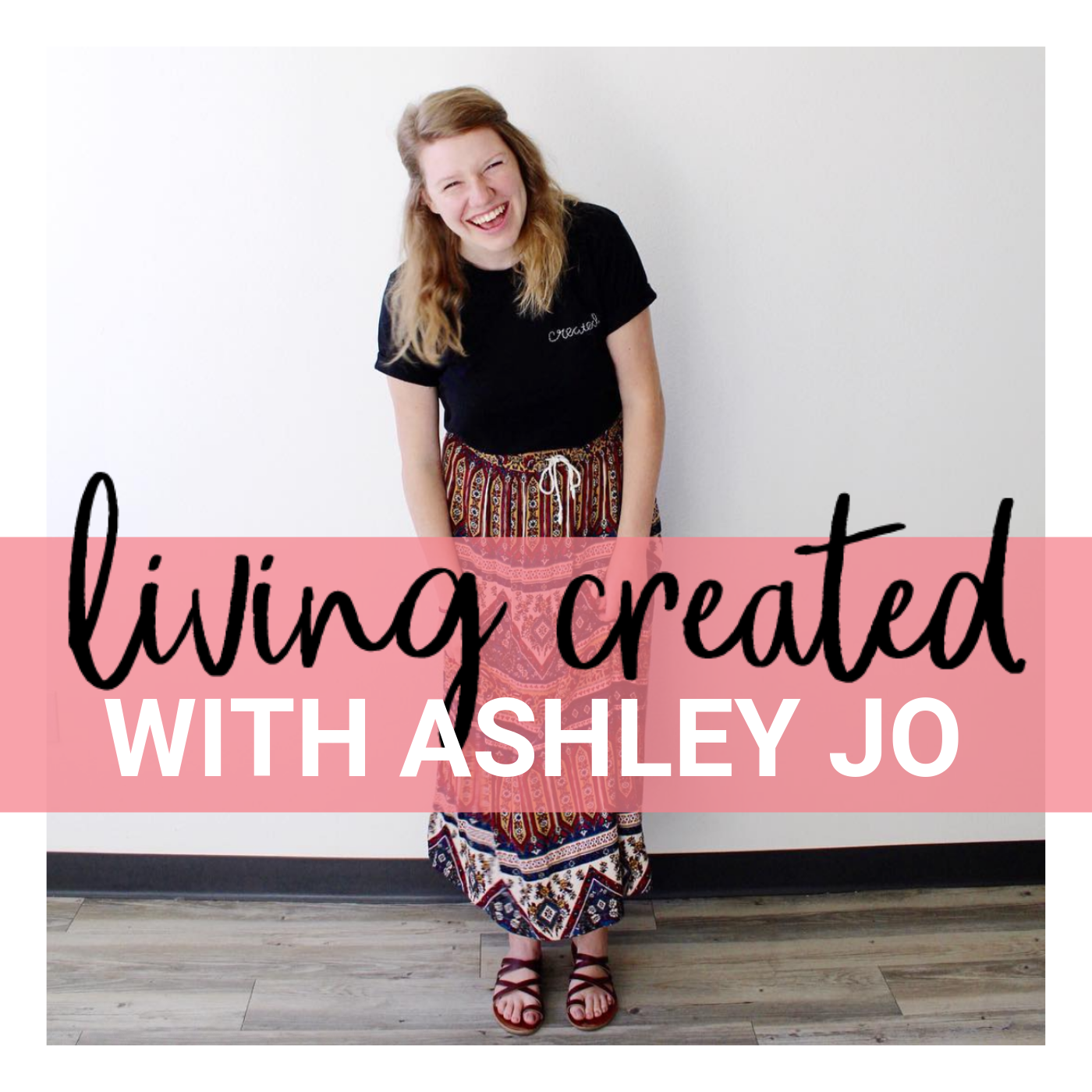 Living Created with Ashley Jo Bruce show art