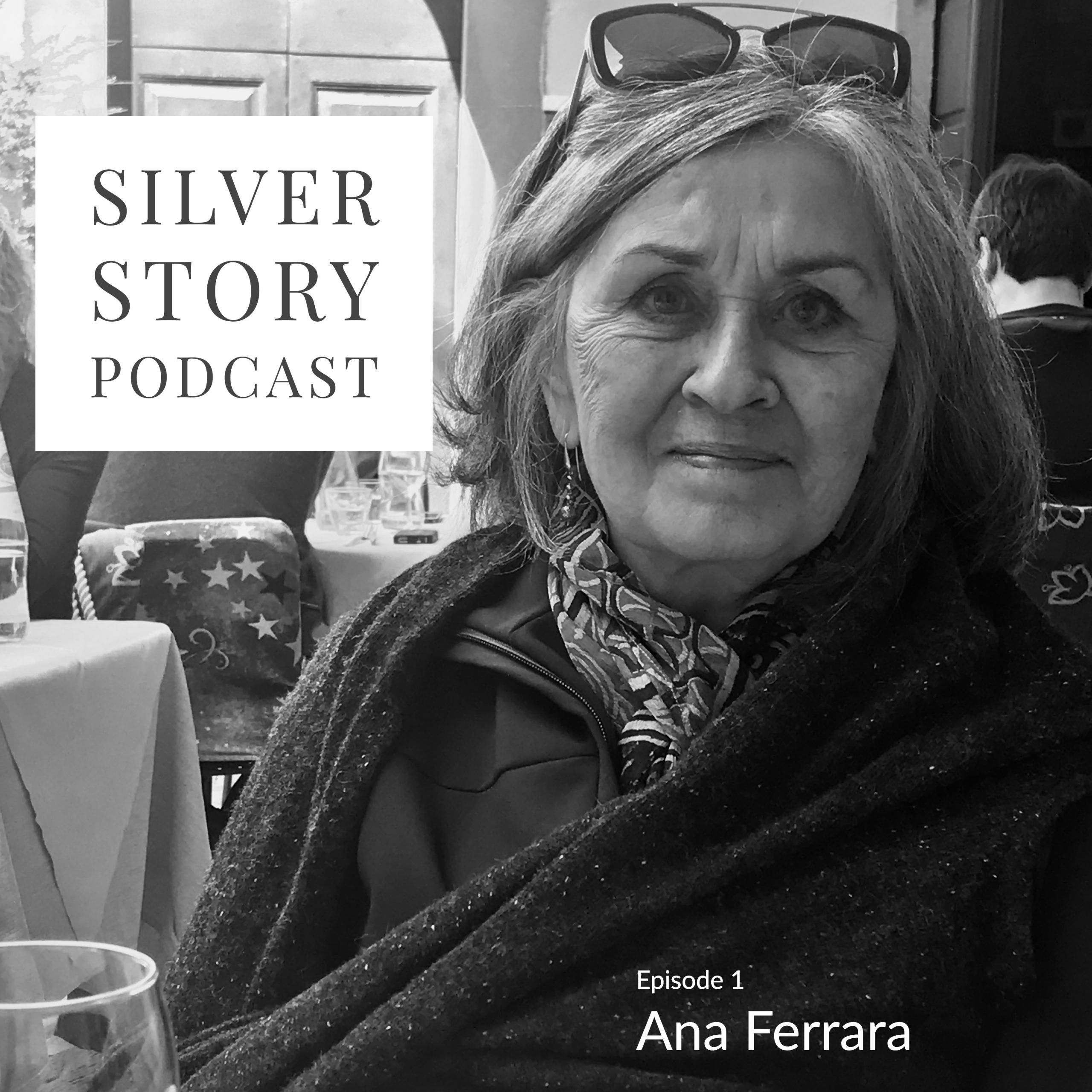 Silver Story with Ana Ferrara show art