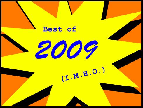 Cammy's Comic Corner - Best of 2009 (I.M.H.O.)