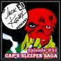 "Artwork for Episode 51- ""Cap's Sleeper Saga"""
