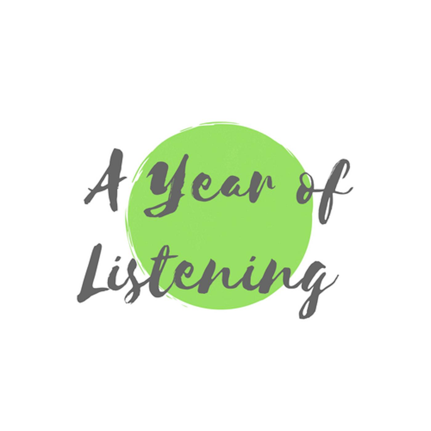 A Year of Listening show art