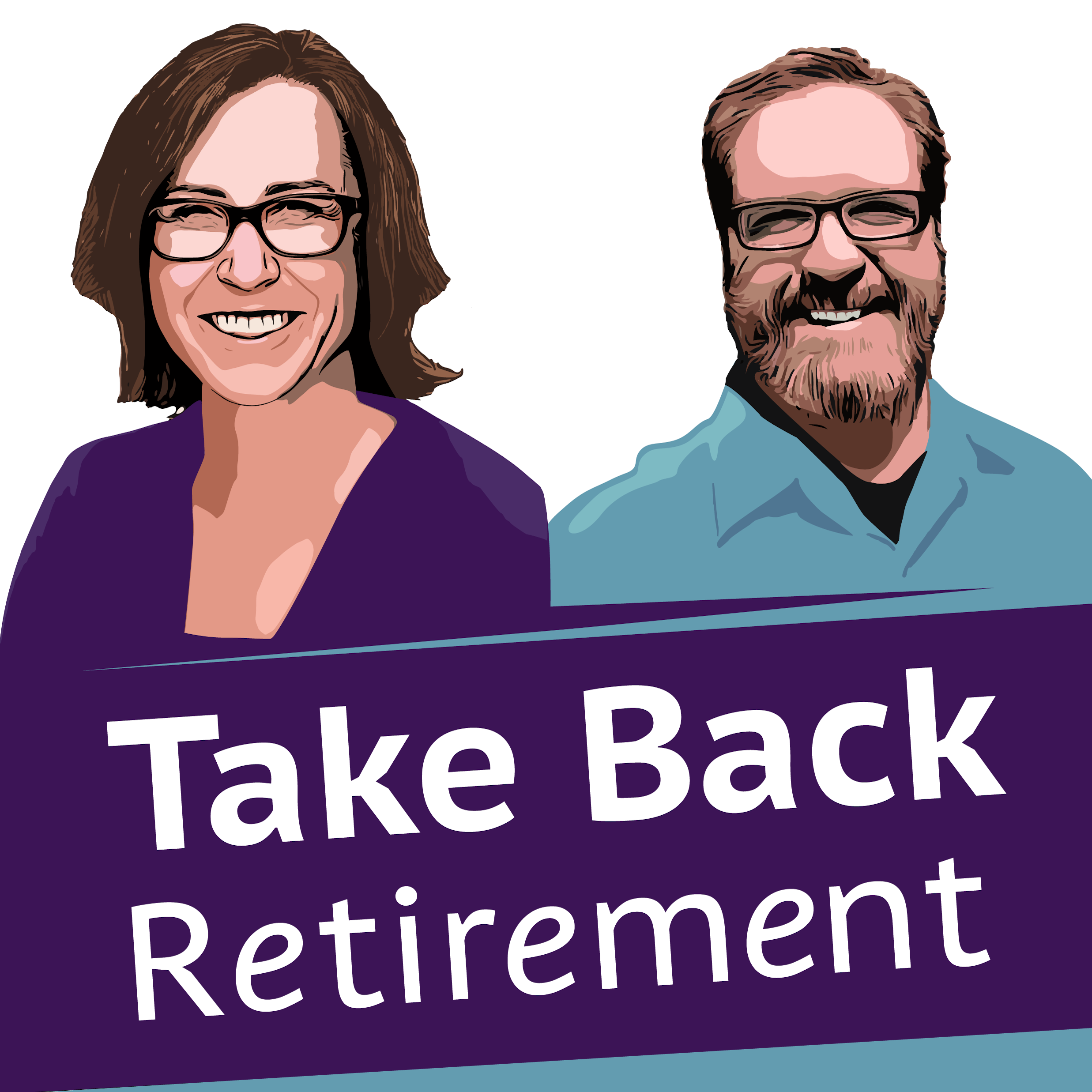 Take Back Retirement show art