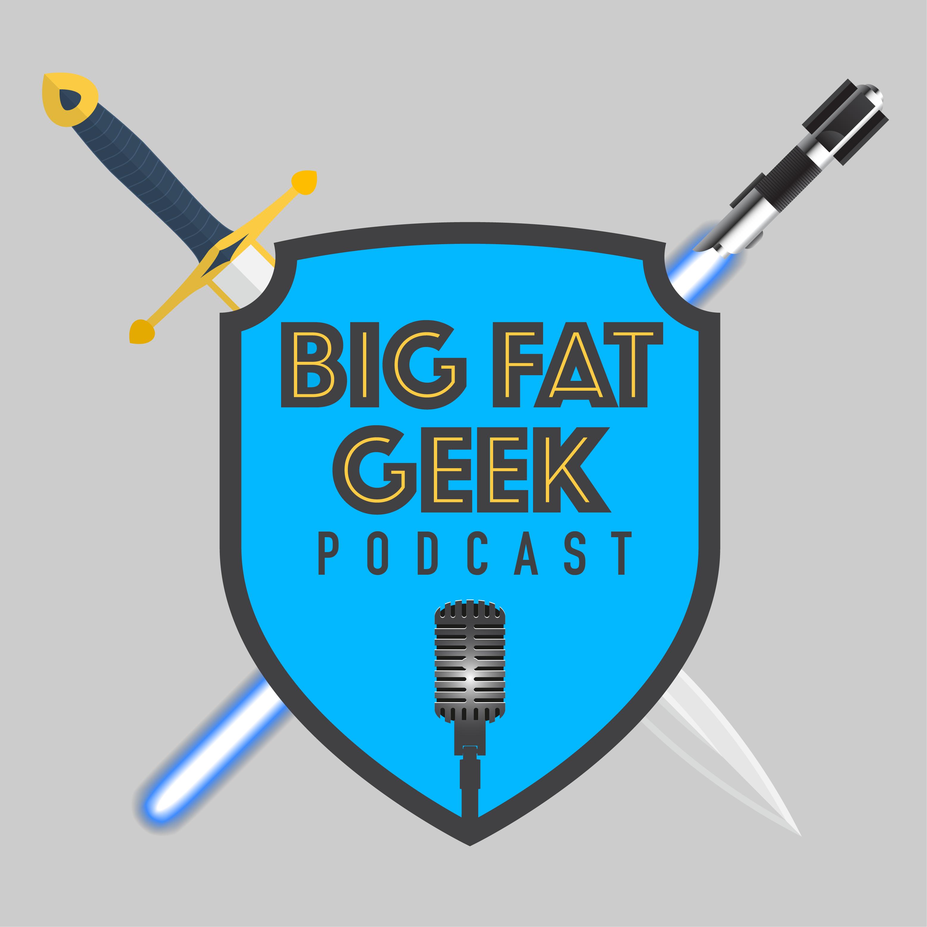 Big Fat Geek Podcast show art