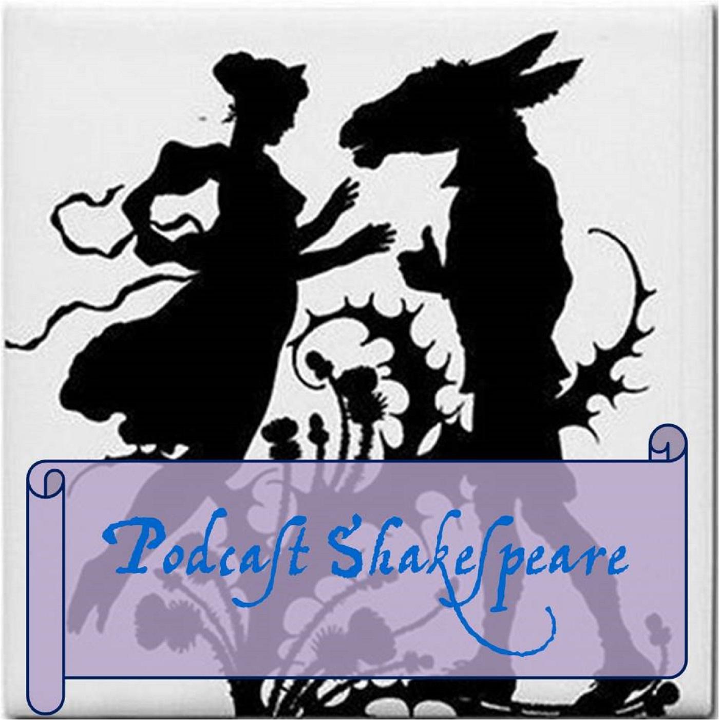 Podcast Shakespeare show art