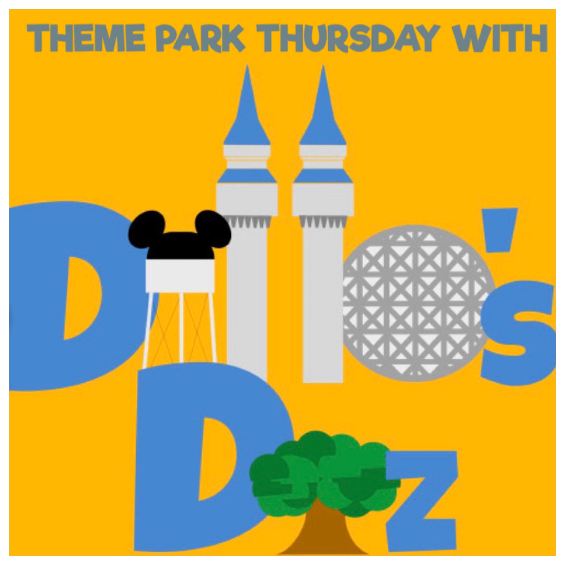 Theme Park Thursday with Dillo's Diz show art