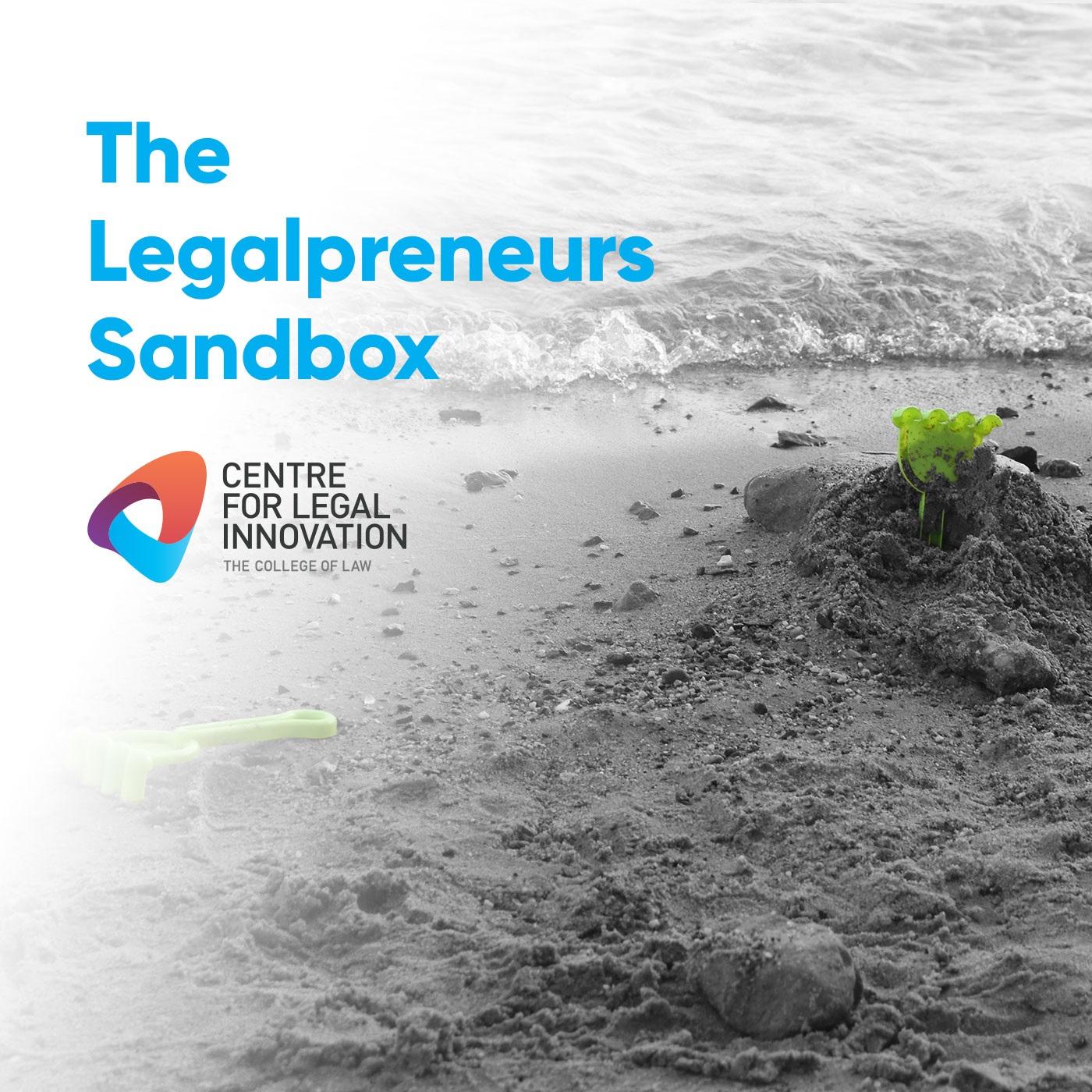 The Legalpreneurs Sandbox show art