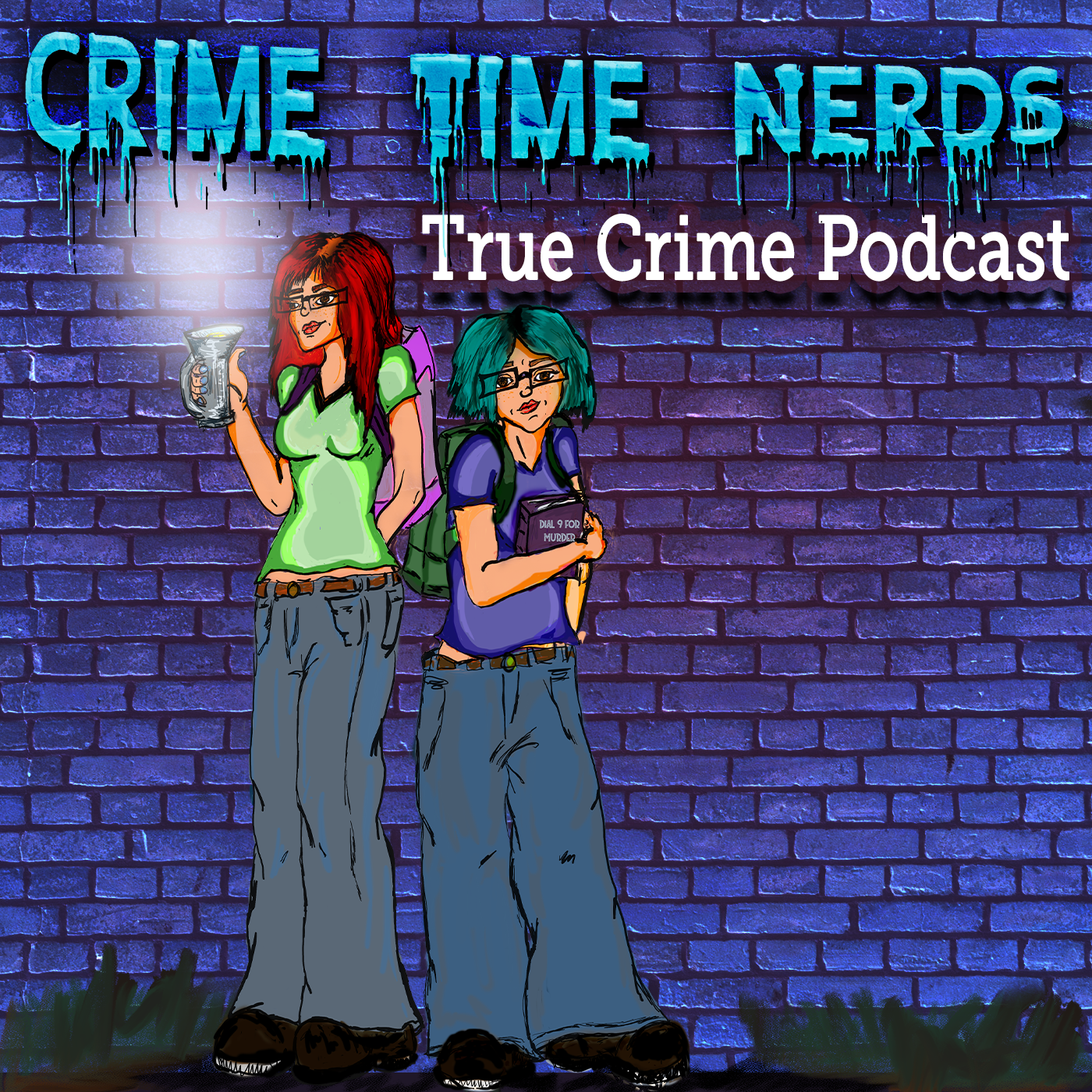 Crime Time Nerds show art