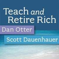 Teach and Retire Rich - The podcast for teachers, professors and financial professionals logo